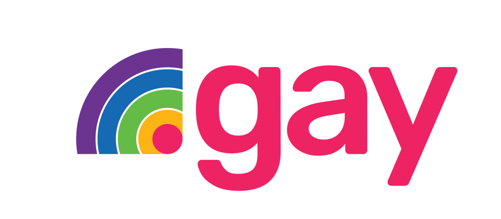 Logo for .GAY TLD.