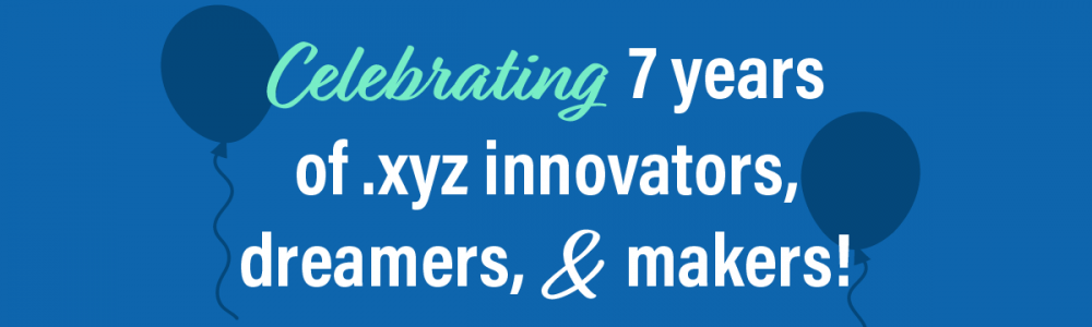 .XYZ 7th Anniversary Banner