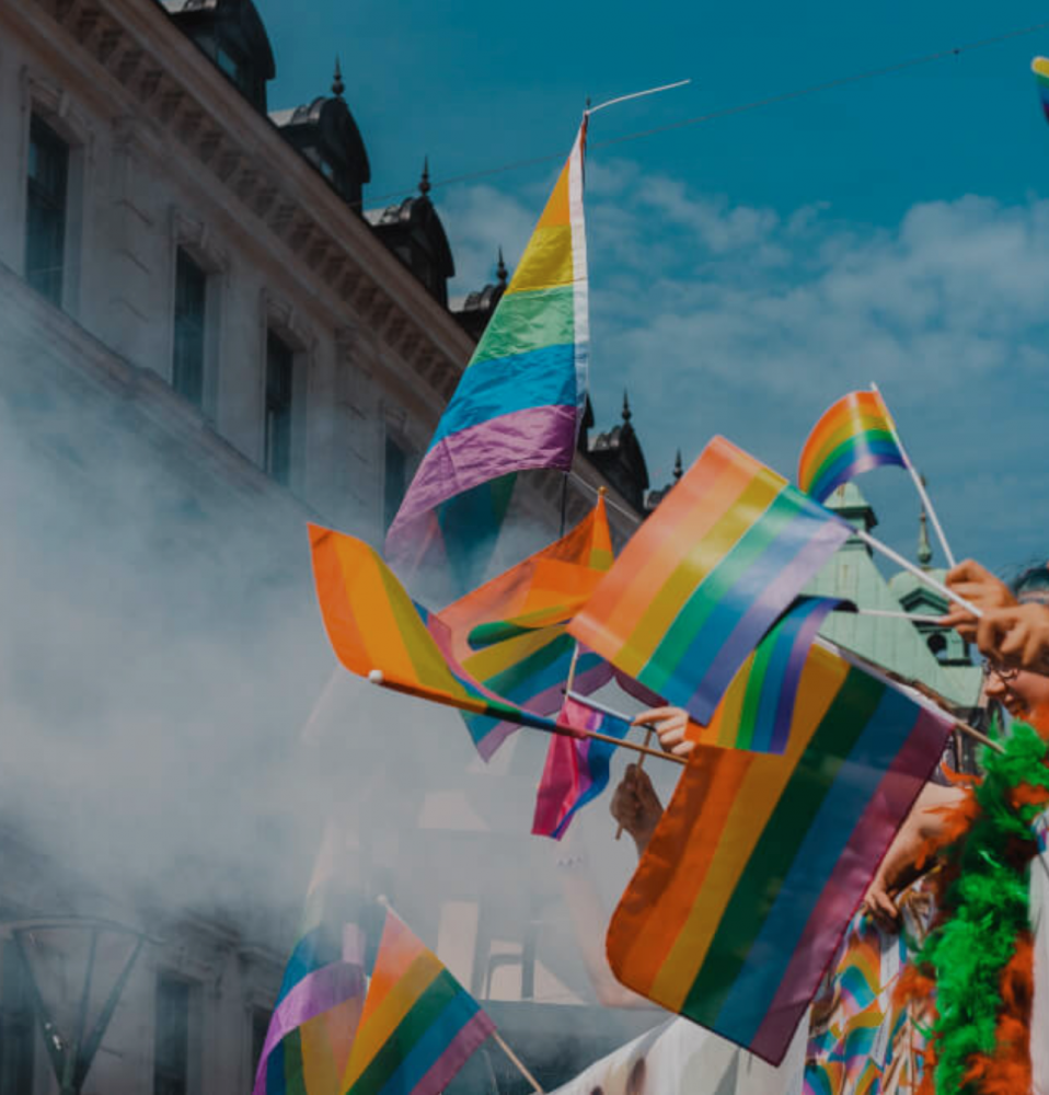 Photo of LGBTQ+ parade
